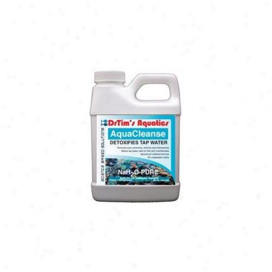 Drtim's Aquatics 214 32 Oz Nah2o-pure Aquacleanse Tapwater Detoxifier For Saltwater Aquaria