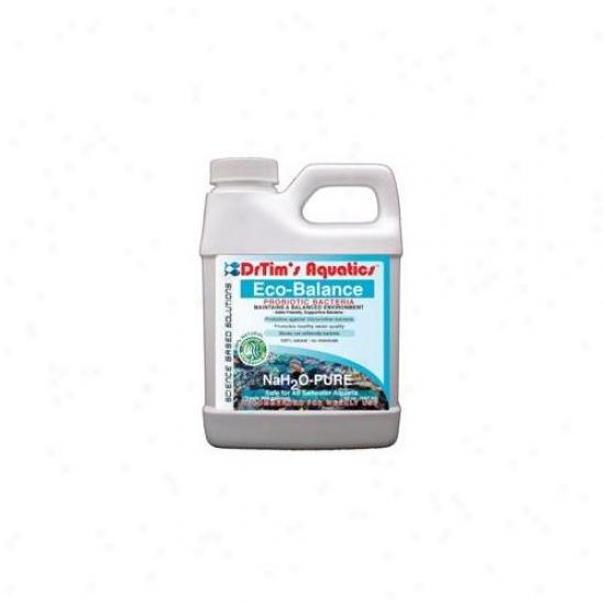 Drtim's Aquatics 265 64 Oz Nah2o-pure Eco-balance Probiotic Bacteria