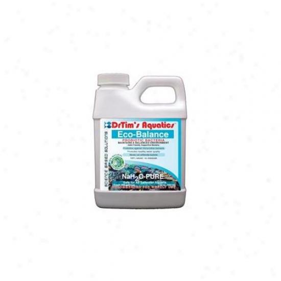 Drtim's Aquatics 266 128 Oz Nah2o-pure Eco-balance Probiotic Bacteria