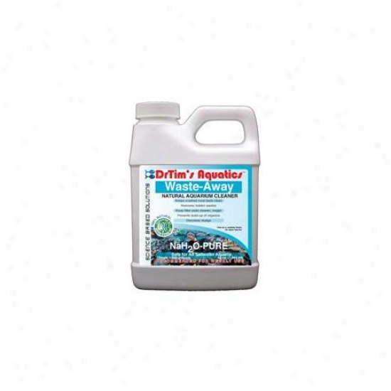 Drtim's Aquatics 274 32 Oz Nah2o-pure Waste-away Natiral Aquarium Cleaner