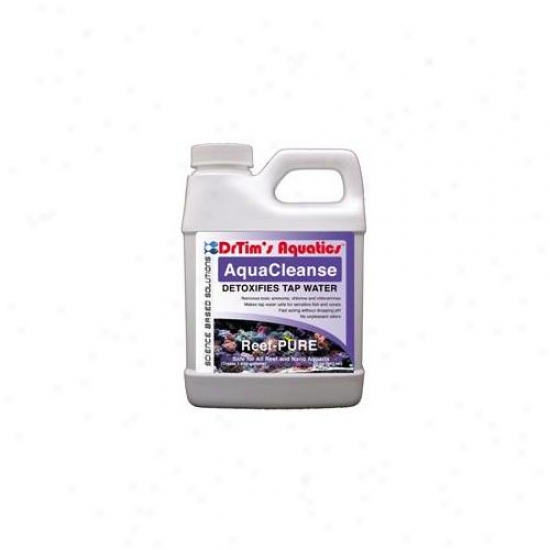 Drtim's Aquatics 414 32 Oz Reef-purw Aquacleanse Tapwater Detoxifier For Ref And Nano Aquaria