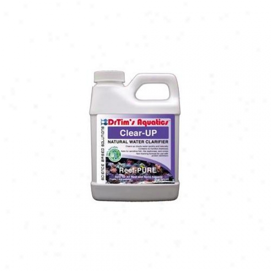 Drtim's Aquatics 444 32 Oz Reef-pure Clear-up Natrual Water Clarifier For Reef And Nano Aquaria