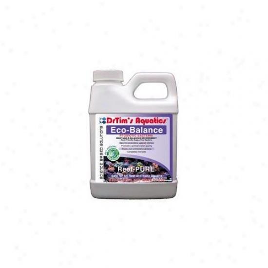 Drtim's Aquatics 465 64 Oz Reef-pure Eco-balance Probiotic Bacteria