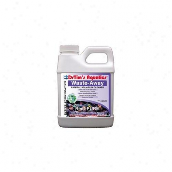 Drtim's Aquwtics 475 64 Oz Reef-pure Waste-away Natural Aquarium Cleaner
