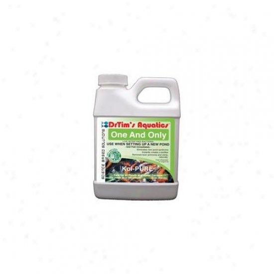 Drtim's Aquatiics 603 16 Oz Koi-pure One & Only Live Nitrifying Bacteria For Pond