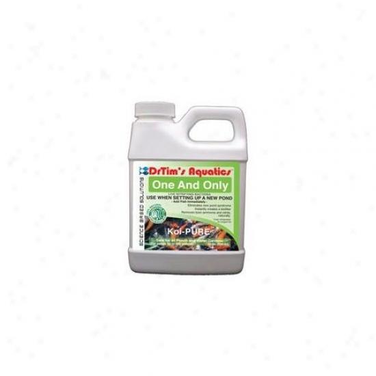 Drtim's Aquatics 604 32 Oz Koi-pure One & Sole Live Nitrifying Bacteria For Pond