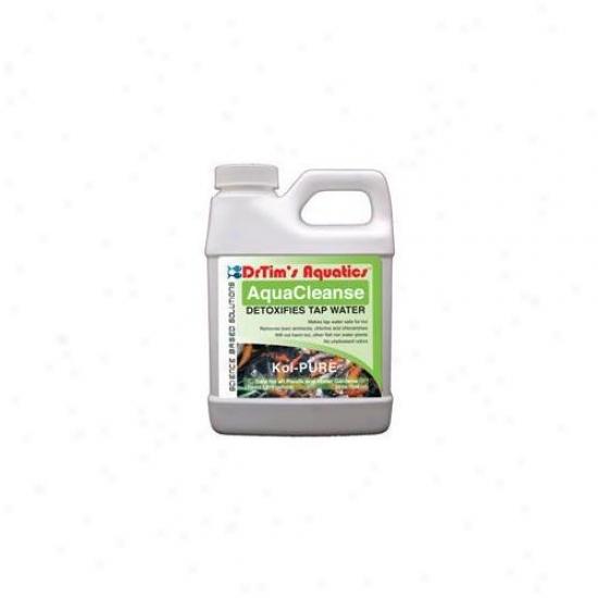 Drtim's Aquatics 613 16 Oz Koi-pure Aquacleanse Tapwater Detoxifier For Ponds And Watter Gardens