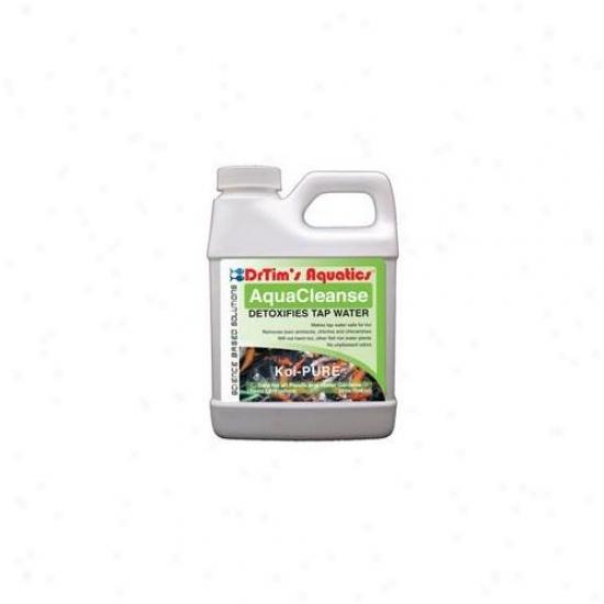 Drtim's Aquatics 614 32 Oz Koi-pure Aquacleanse Tapwater Detoxifier For Ponds And Water Gardens