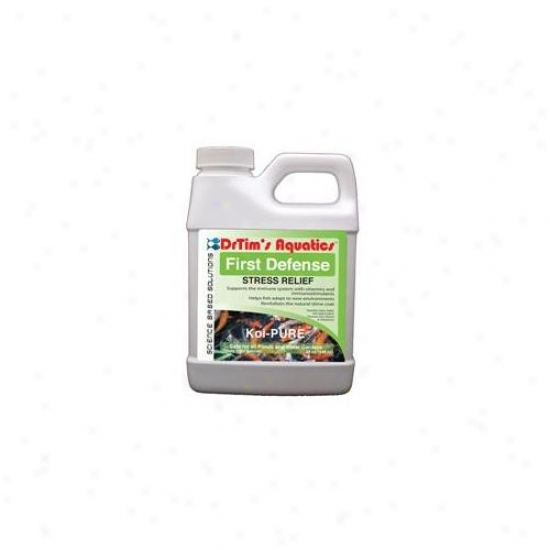Drtim's Aquatics 625 64 Oz Koi-purefirst Defense Stress Relief For Ponds Abd Water Gradens