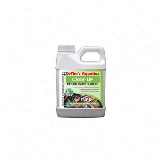 Drtim's Aquatics 644 32 Oz Koi-pure Clear-up Natural Water Clarifier For Ponds And Water Gardens