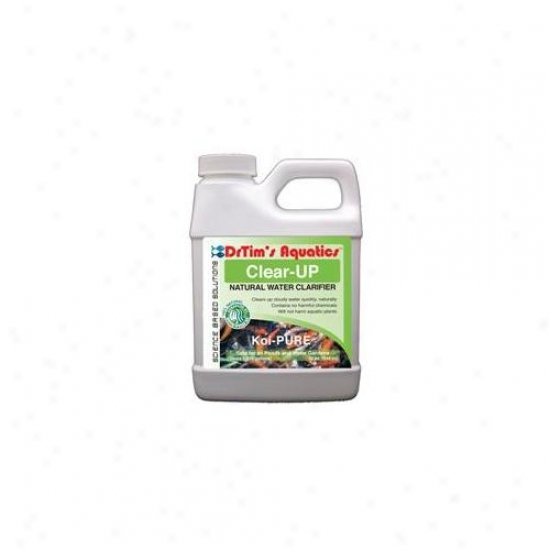 Drtim's Aquatics 646 128 Oz Koi-pure Clear-up Natural Water Clarifier For Ponds And Water Gardens