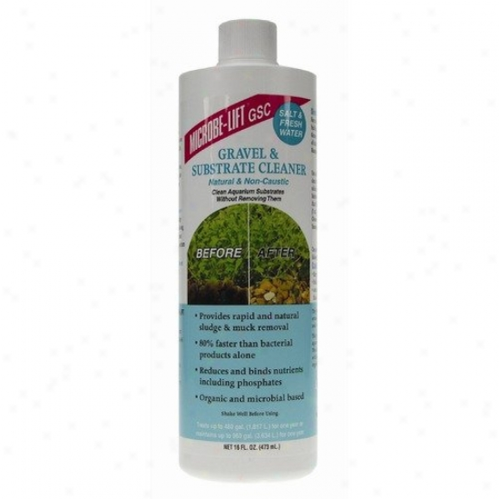 Ecological Laboratories Microbe-lift Gravel And Substrate Cleaner