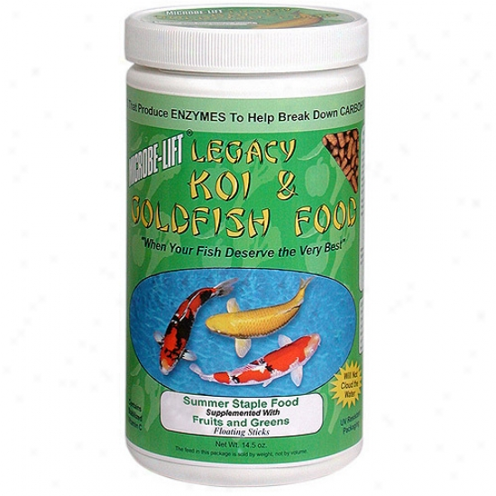 Ecological Labs 14. 5 Oz Koi Legacy Fruits & Greens  Mllfgsm - Pack Of 12