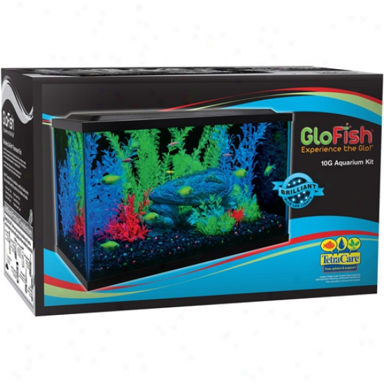 Glofish 10 Gallon Aquaroum Kit