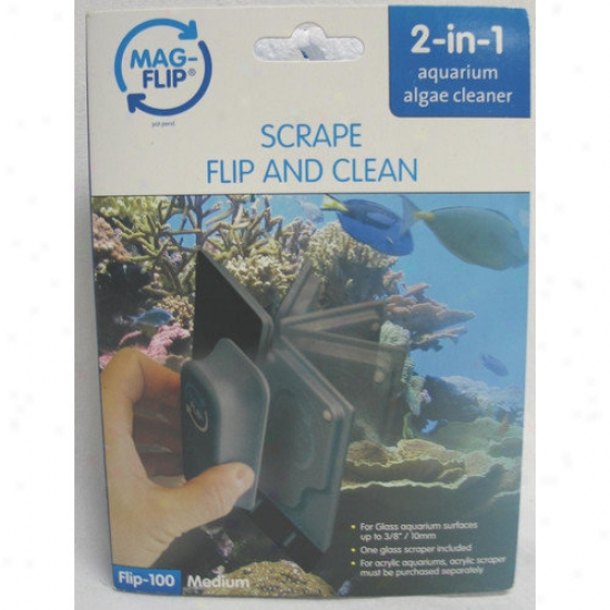 Gulfstream Tropical Aquarium Mag-flip Glass Aquarium Cleaner