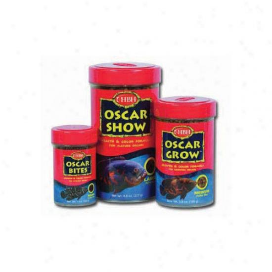 Hbh Enterprise Oscar Show Fish Food (8 Oz.)