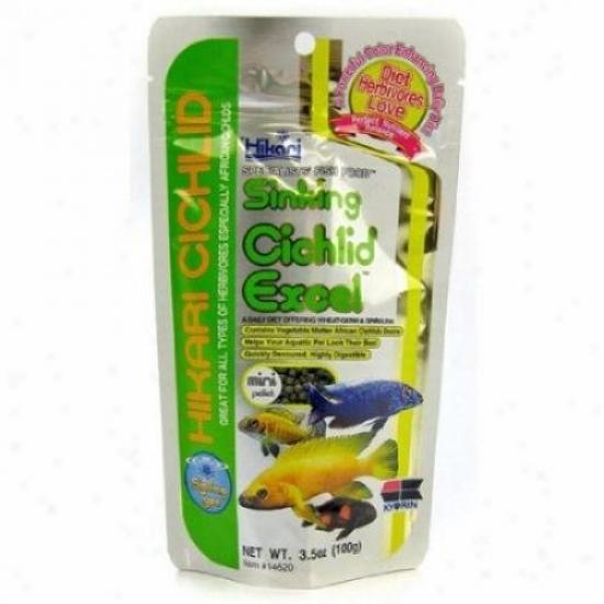 Hikari 14620 Sinking Cichlid Excel Mini Plt