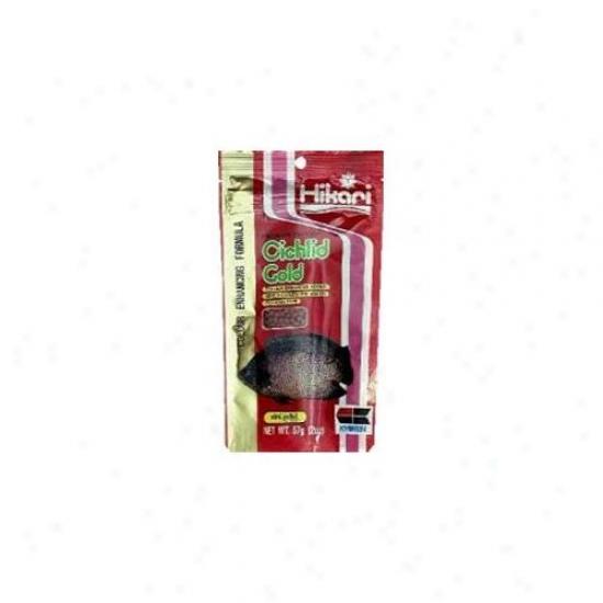 Hikari Sales Cichlid Gold Gold 2 Ounce - 4211