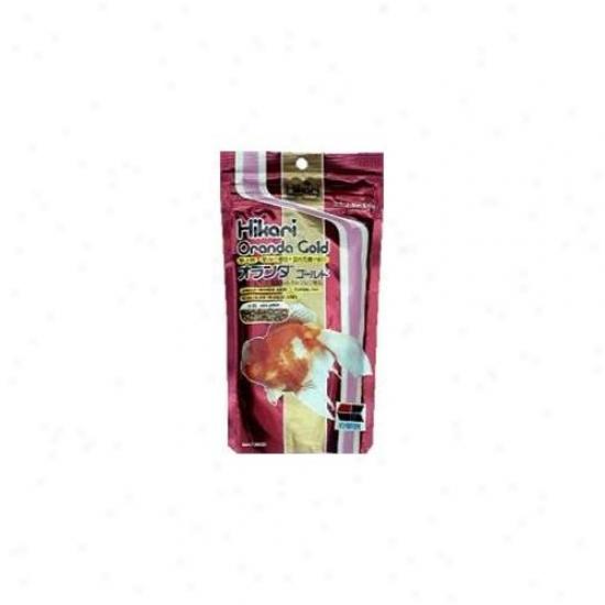 Hikari Sales Goldfish Oranda Gold Gold 3. 5 Ounces - 5620