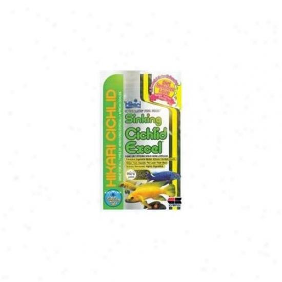 Hikari Sales Usa Inc 14633 Falling Cichlid Excel Mini Plt 12 Ounce