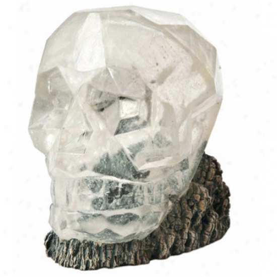 Hydor H2show Lost Civilization Crystal Skull Resin Decorate