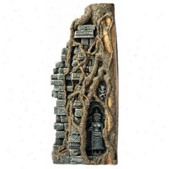 Hydor H2show Lost Civilization Forest Temple Right Resin Ornament