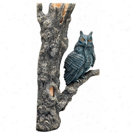 Hydor H2show Magic World Owl Resin Ornament