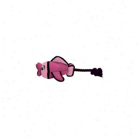 Hyper Pet 47915ea Pink Mini Flying Fish Dog Toy