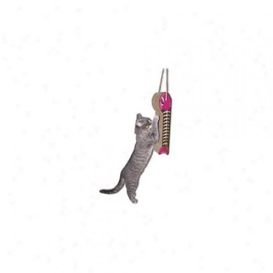 Imperial Cat 00130 Fish On A Line Hanging Cat Scratcher