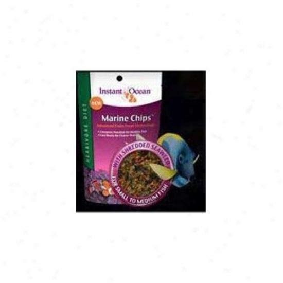 Instant Ocean-aquarium Systems Aioin16012 Marine Chips Herbivore