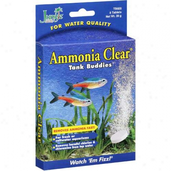 Jungle: Ammoni Clear Tank Buddies, 39 G