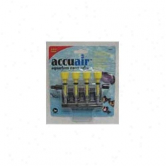 Jw Pet Company 21203 Accuair 4-way Gang Valve
