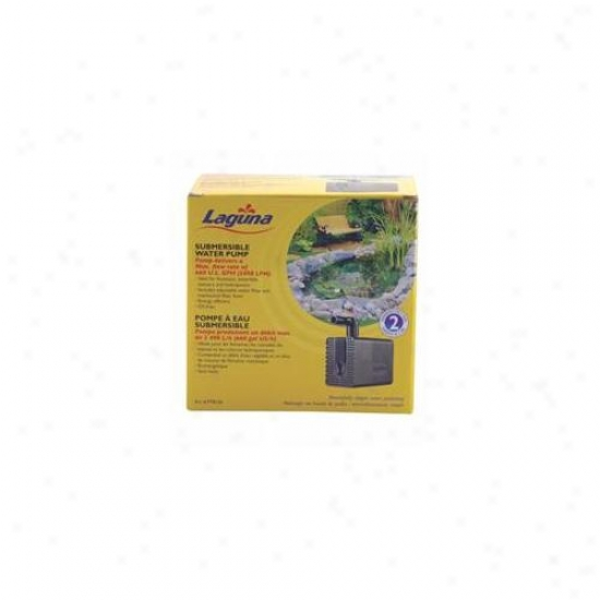 Laguna Water Garden - Jet And Statuarh Pump- Black 660 Gallon-hour - Pt8120