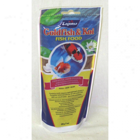 Lagua Waterworks Goldfish And Koi Food Small