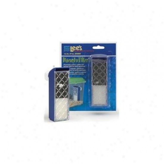 Lees Aquarium & Pet 407963 Discard-a-filter