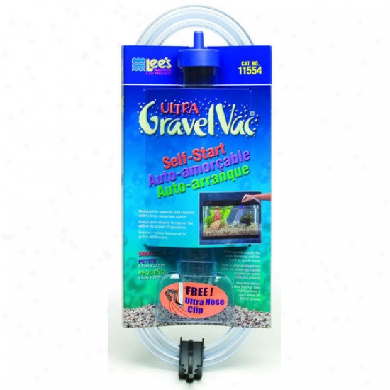 Lees Aquarium & Pet Fish Gravel Vacuum Cleaner By the side of Nozzle