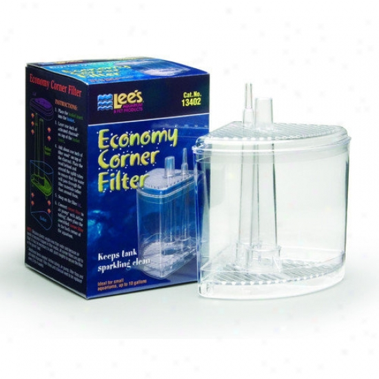 Lees Aquarium & Pet Small Economy Corner Filter