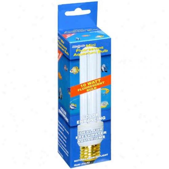 Lights Of America 10 Watt Mini Fluorescent Aquarium Bulb, 1ct