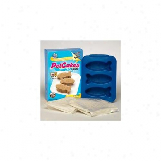 Lucky Paws Pck-cn Petcakes Kit - Cheese Nip Because of Cats