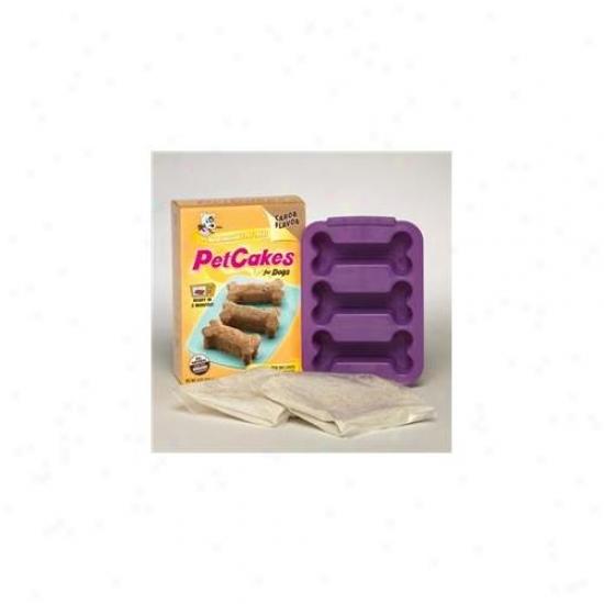 Lucky Paws Pck-oc Petcakes Kit - Original Carob For Dogs