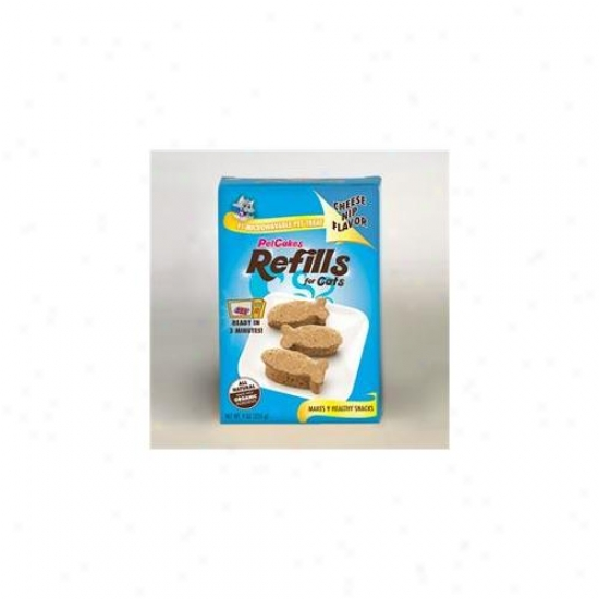 Lucky Paws Pcr-cn Petcakes Cheese Nip For Cats Refills