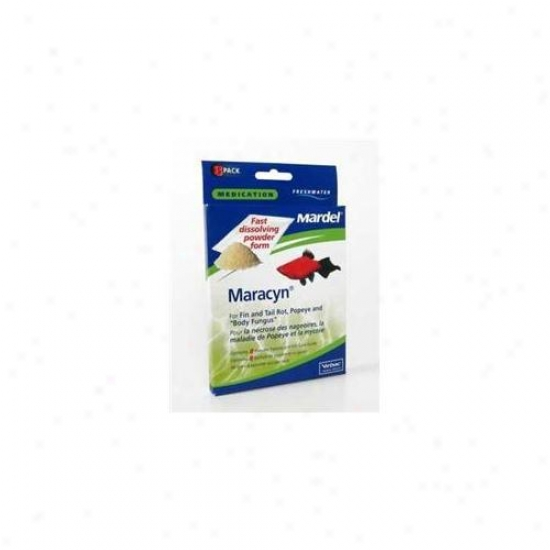 Mardel - Virbac - Amd01115 Freshwater Maracyn Powder 8 Packets