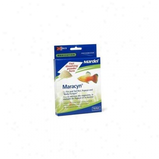 Mardel - Virbac - Amd01125 Freshwater Maracyn Powder - 24 Packets