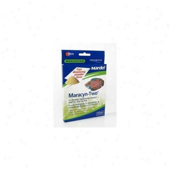 Mardel - Virbac - Amd02115 Freshwater Maracyn-2 Powder 8 Packets