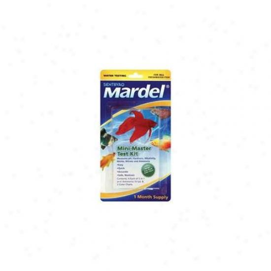 Mardel - Virbac - Amd21166 Mini Master Test Kit - 8 Pack