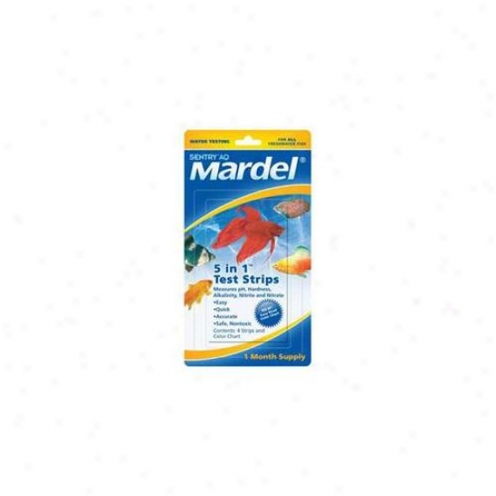 Mardel - Virbac - Amd21171 5 In 1 Test Strips 4pc