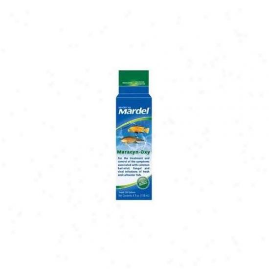 Mardel - Virbac - Amd21183 Mardel Maracyn-oxy - Fresh Water- Salt Water 4oz