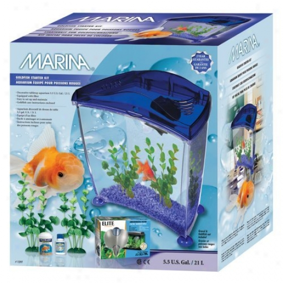 Marina Goldfish Kit - Ul Purple - X-large