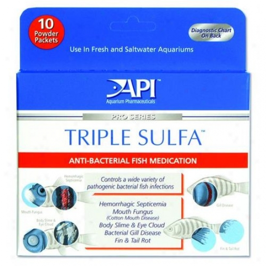Mars Fishcare 50p Triple Sulfa Powder Packets