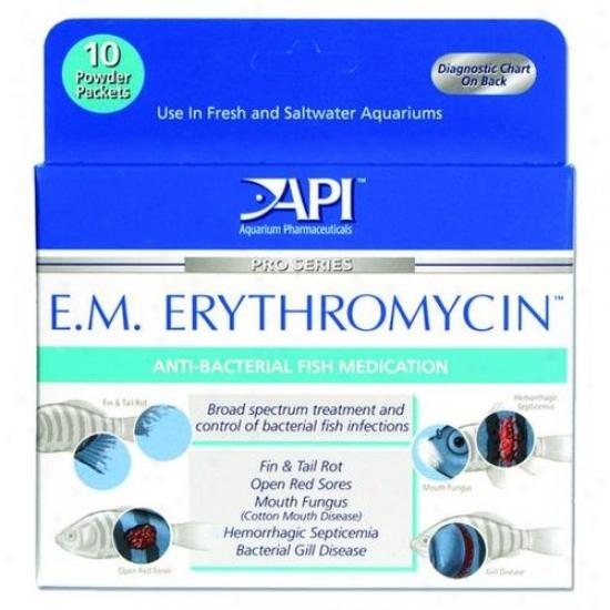 Mars Fishcar e55p E.m. Erythromycin Powder